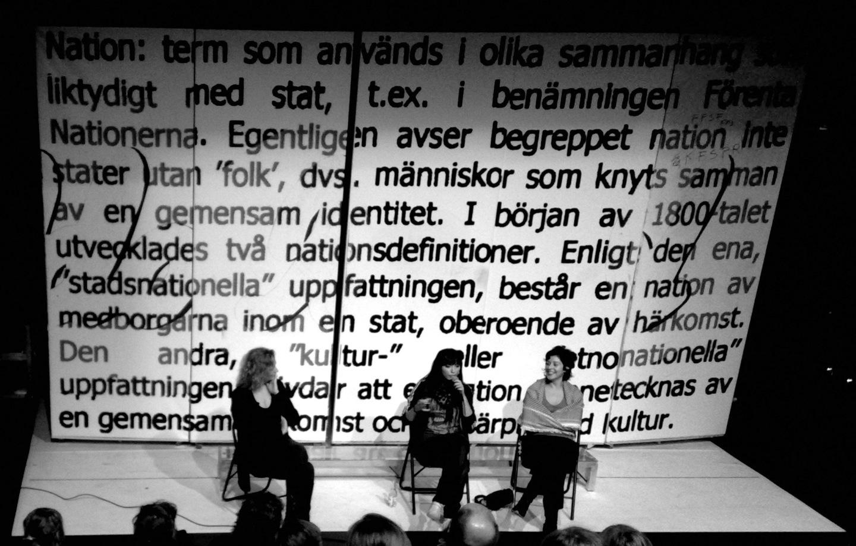 Diskussion på Pustervik efter Etnoporr