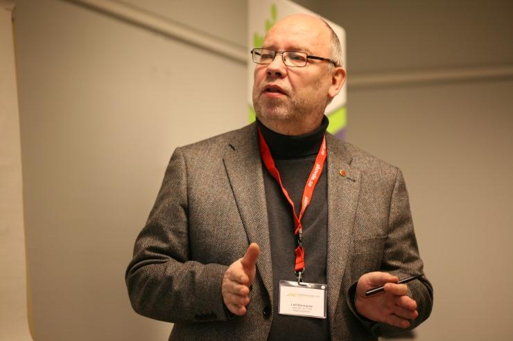 Leif Blomqvist (s), ordförande Västtrafik.
