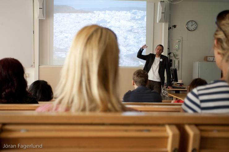 Som vanligt upptog klimatpolitiken en stor del av Jens presentation.
