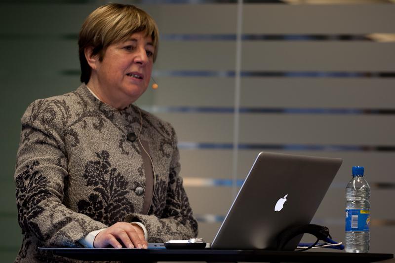Även EU-kommissionens Marjula Diaz-Gutierrez var på plats.