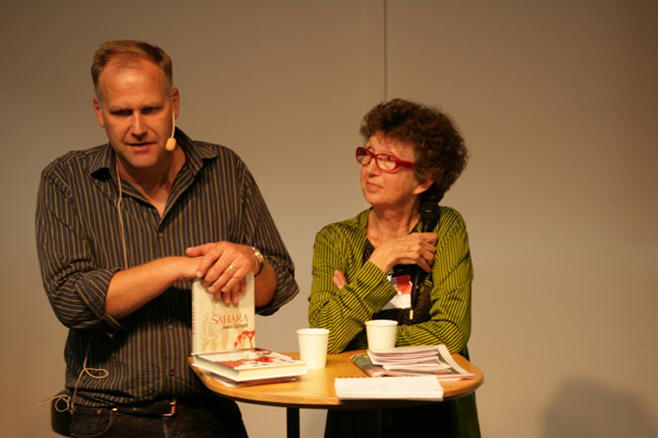 Jonas Sjöstedt (V) på årets Bok & Bibliotek