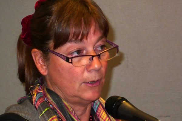 Distriktsordförande Elise Norberg Pilhem hälsade alla välkomna.