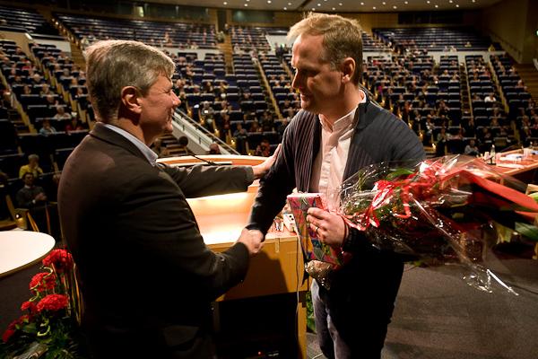 Lasse och Jonas är överens om det mesta. Bild från kongressen 2006.