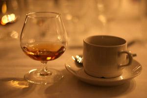 kaffe och cognac