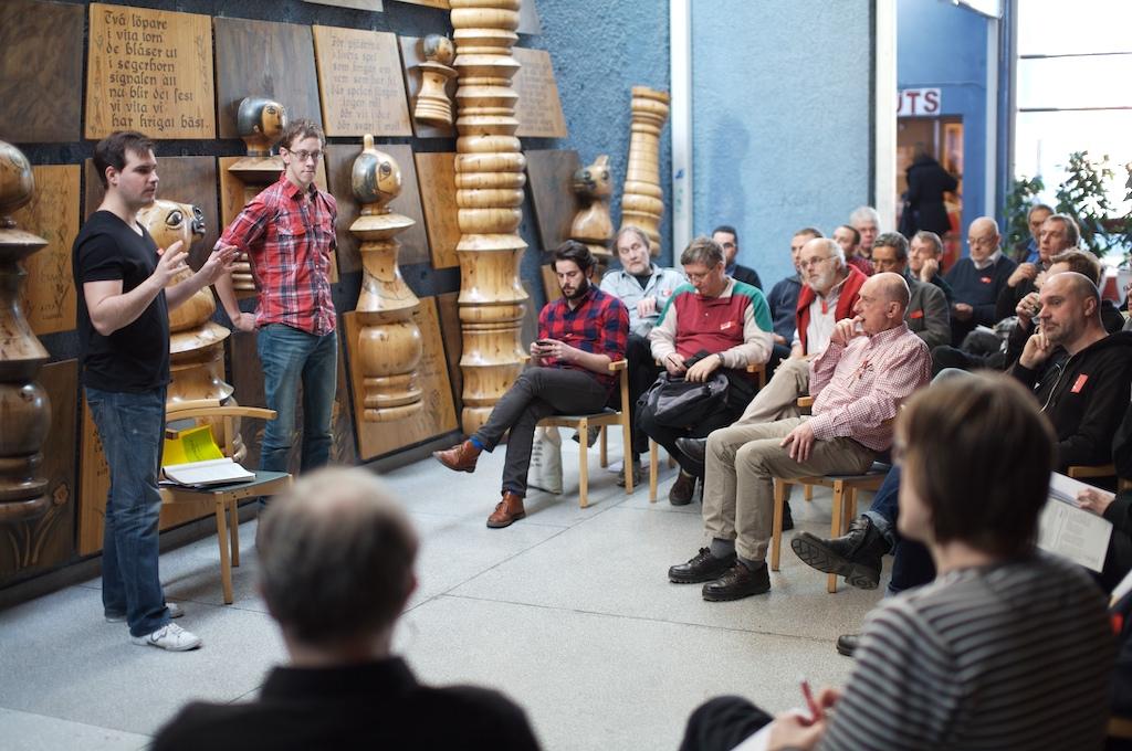 Deltagarna var mer involverade än förra året.
