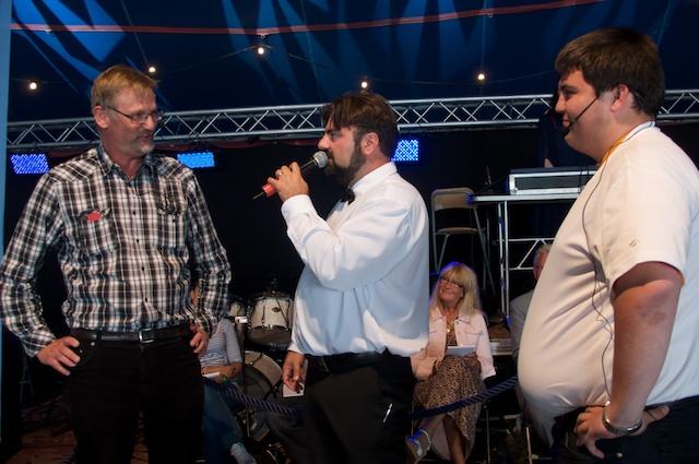 Mats Pilhem, Teddy Paunkoski och Daniel Deak.