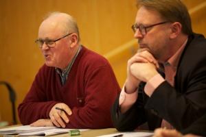 Lennart Hjalmarsson och Evert Carlsson