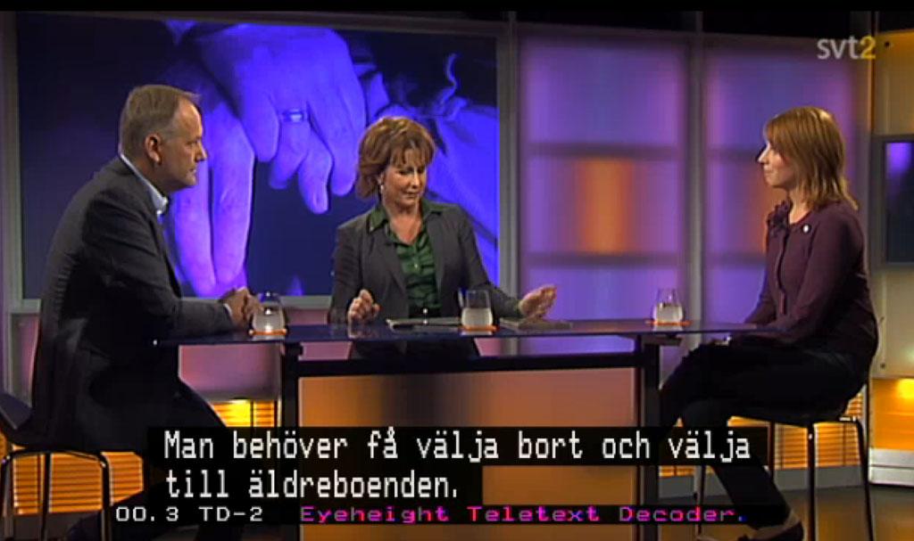 Jonas Sjöstedt och Annie Lööf