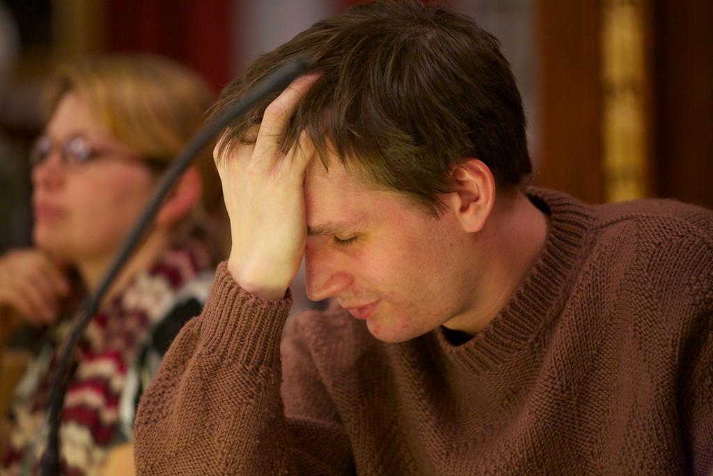 Aron Mathiasson tröttnade på den kaotiska parkeringsdebatten.