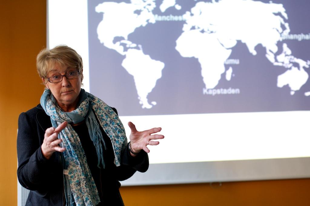 Ines Uusmann, Ordförande Mistra Urban Futures styrelse.