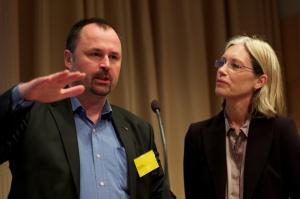 Lars Püss och Katarina Pehlin