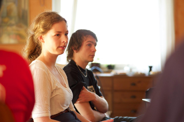 Amanda Reneland och Anders Westerström.