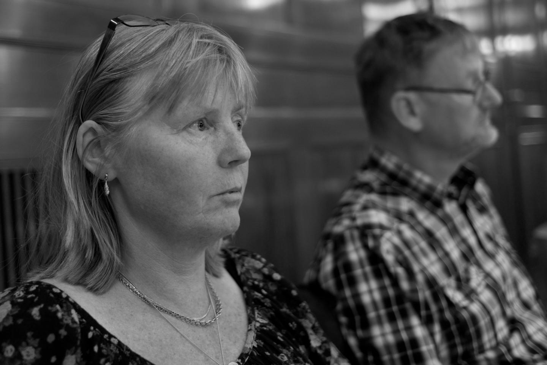 Marie Lindén och Mats Pilhem.