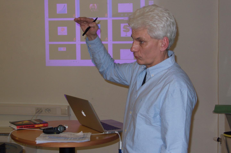 Lars Henriksson, författare till boken Slutkört.