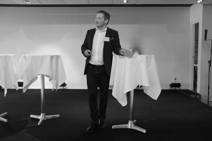 Milan Obradivic, ordförande i miljönämnden i Malmö, pratade om grön-IT.
