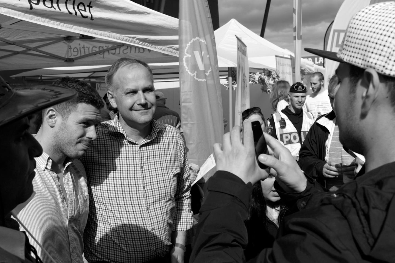 Jonas Sjöstedt förstår sig på fackliga rättigheter och var populär i Hammarkullen
