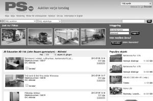 Även inventarierna från JB Education i Mölndal går under klubban.