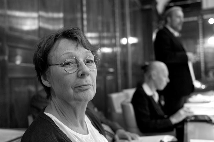 Annita Boije deltog i flera debatter med Carl Ek (-)