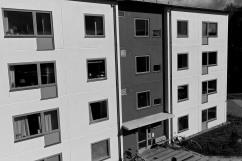 Kombohus i Halmstad.