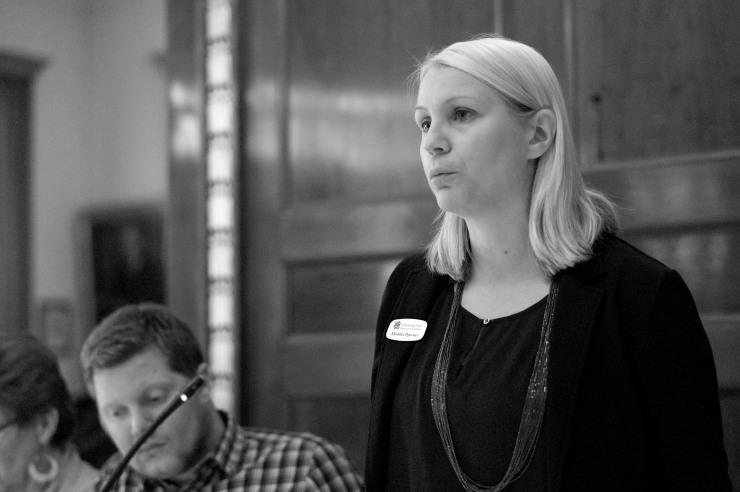 Monika Djurner (V) i debatten om HBTQ-råd.