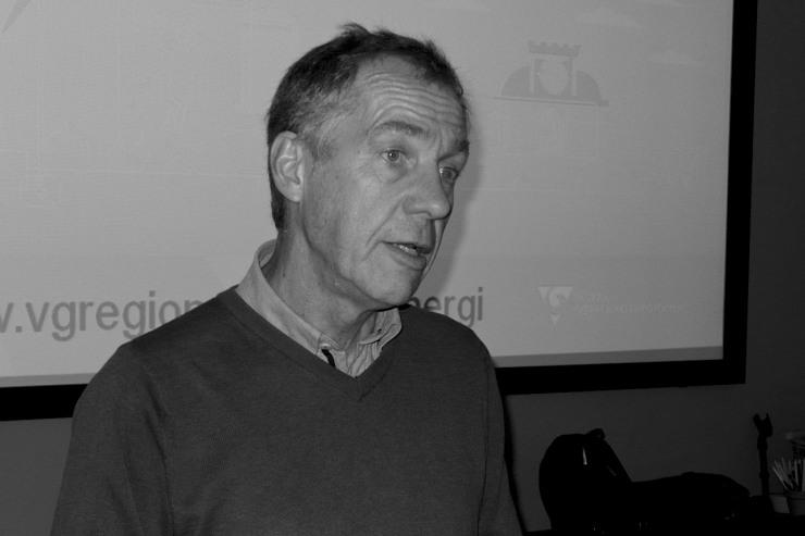 Sören Kviberg (V) ordförande i VGR:s miljönämnd.