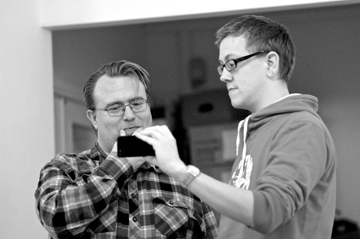 Mikael Wallgren och Håkan Eriksson.