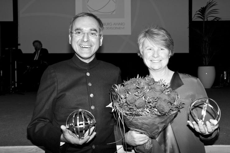 Pavan Sukhdev och Janine Benyus.