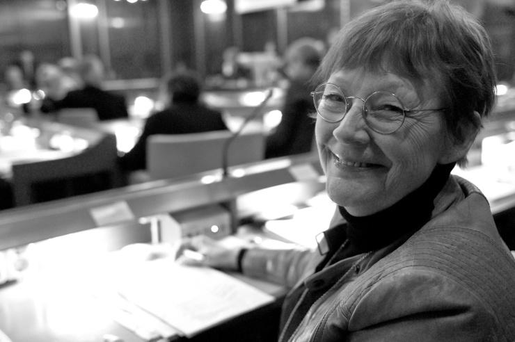 Annita Boije (V) var huvuddebattör om miljöprogrammet.