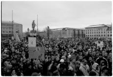 20000 demonstrerade i Göteborg mot USA:s invasion av Irak.