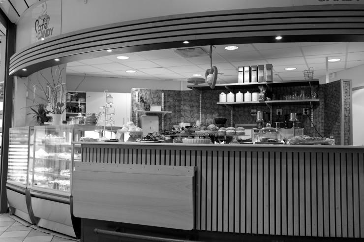 Café Candy i Gårdstens Centrum.