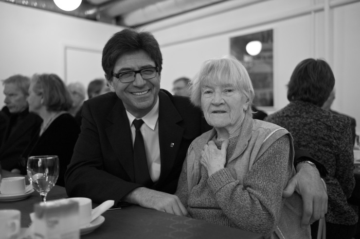 Zsolt Szanto och Greta Segersson.