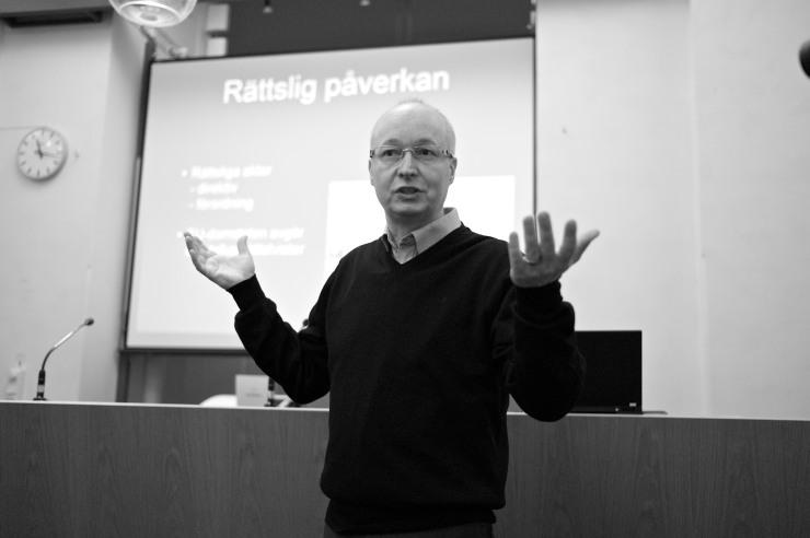 Mikael Gustafsson, EU-parlamentariker.