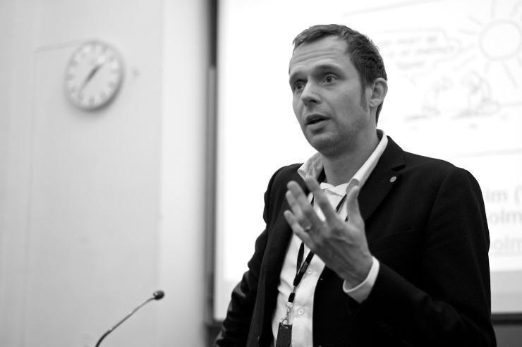 Jens Holm, talesperson i miljö- och klimatfrågor.