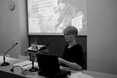Anna Helgesson berättade om Malmös köp av vindkraftverk.