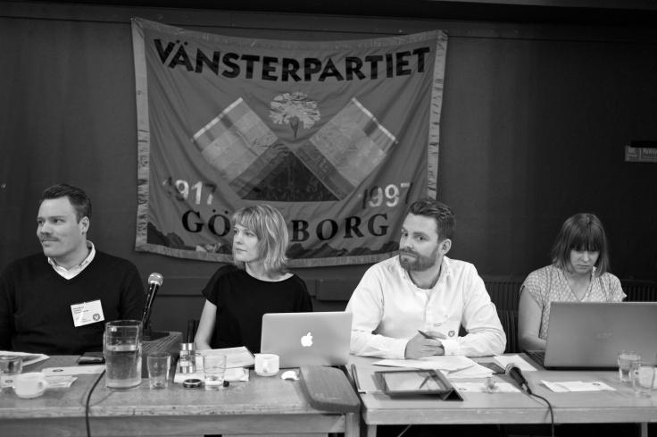 Till presidium valdes Daniel Bernmar, Emelie Kinberg, Hans Linde och Annika Fägerlind.