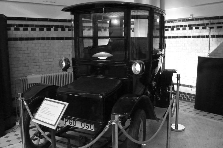 Redan 1908 hade el-bilar en räckvidd på 10 mil.