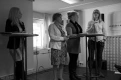 Anna Johansson, Christina Wahlström, Charlotte Barouma och Helena Sjölander.