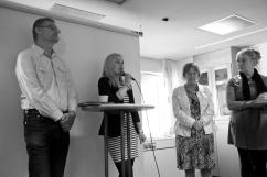 Mats Pilhem, Anna Johansson och Christina Wahlström.