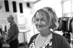 Yvonne Palm (V) andre vice ordförande SDN Angered.