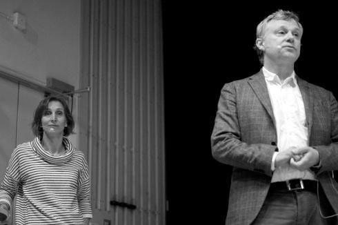 Ann Legeby och Lars Marcus.