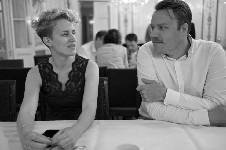 Alice Vernersson och Daniel Bernmar.
