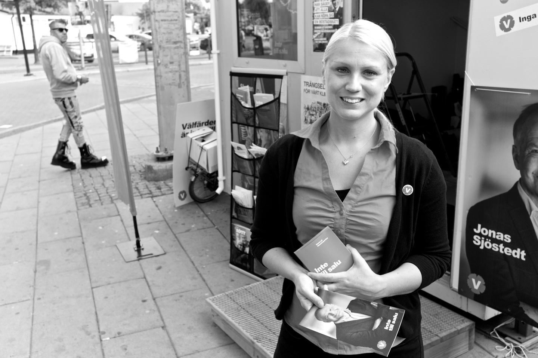 Monika Djurner på Backaplan.