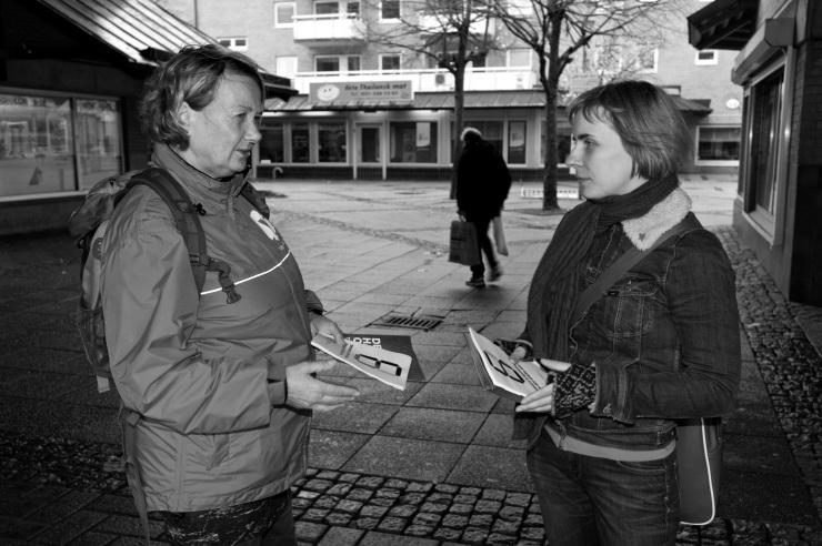 Yvonne Palm och Lisa Ahlqvist.
