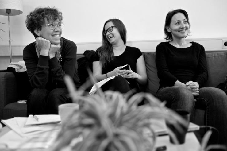 Elin Hörbeck, Ann Karlsson och Lisbet Buzleta ingår alla i kampanjledningen.