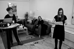 Elin Hörbeck, Helen Engholm, Lisbet Buzleta och Ann Karlsson.