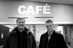 Patrik Helgesson och Joakim Medin.
