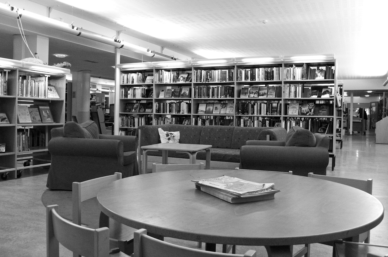 Biblioteket i Lundby.