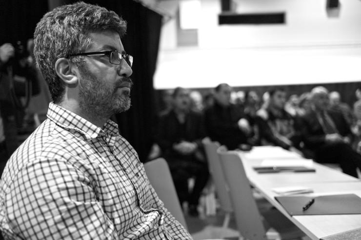 Det är alltid bra att vara fler. Alejandro, Vänsterpartiets ersättare i SDN Angered, var också på plats.