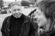 Johan Lönnroth och Malin Björk
