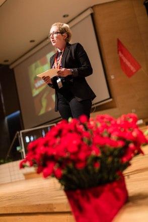 Hanna Gedin, oppositionsråd Malmö. Fotograf: Jöran Fagerlund.